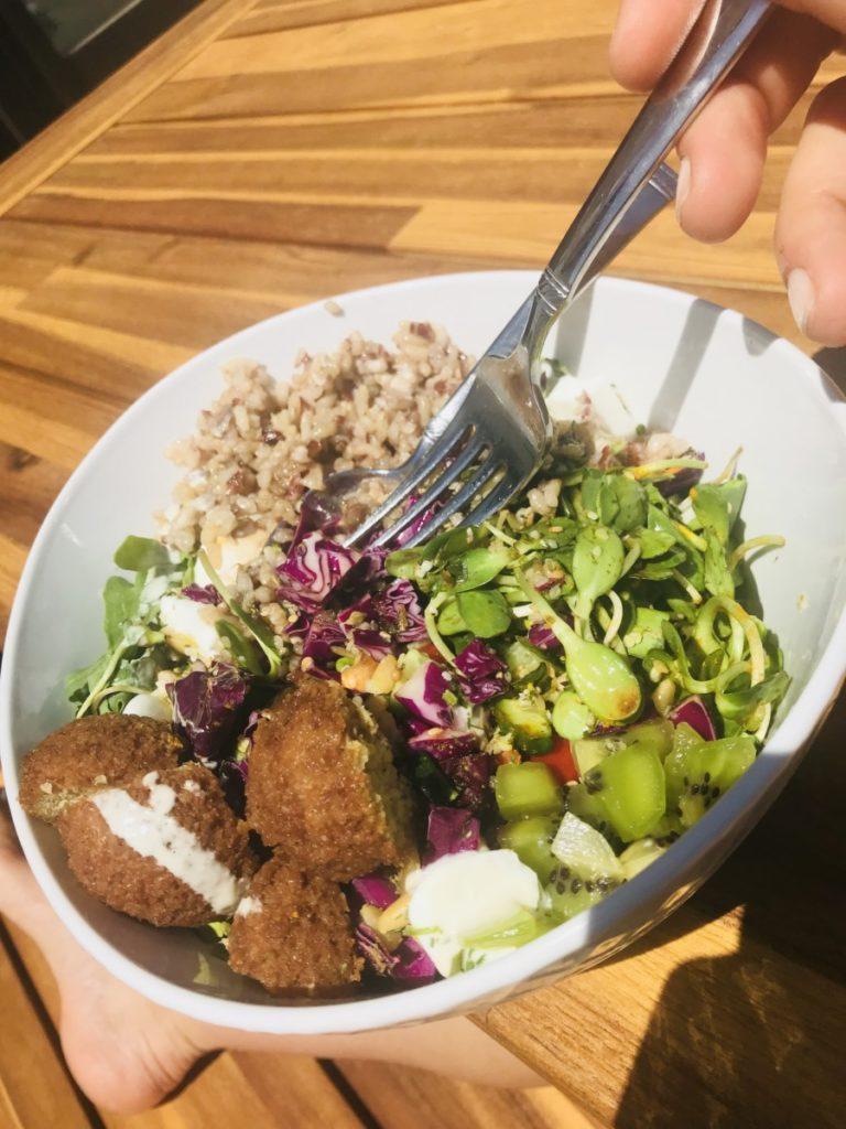 Mediterranean diet salad